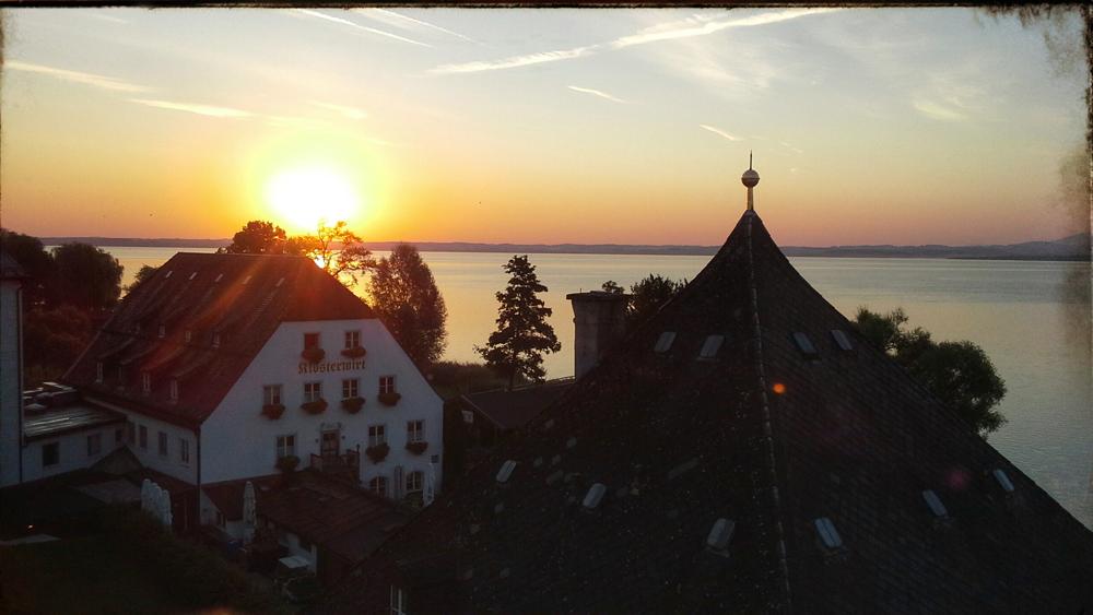Baviera in bici. Arrivederci, Fraueninsel! Da oggi si pedala.