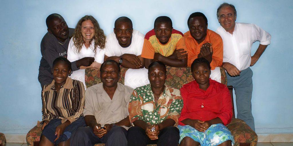 La famiglia di David a Bafoussam