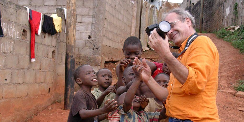 Bimbi e foto a Yaounde Camerun