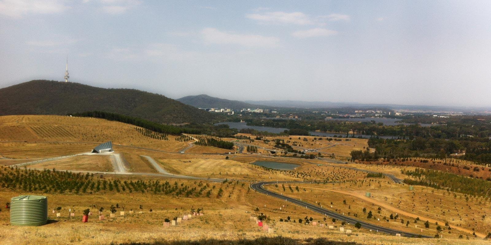 Finalmente Canberra, in Terra Australis Incognita